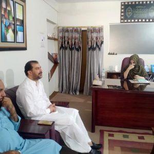 QTA Minister Visit